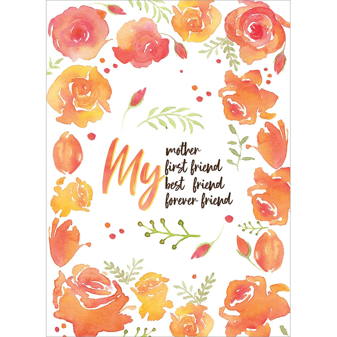 Mother Friend Mother's Day Greeting Card