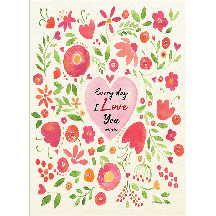 Love You More Mother's Day Greeting Card