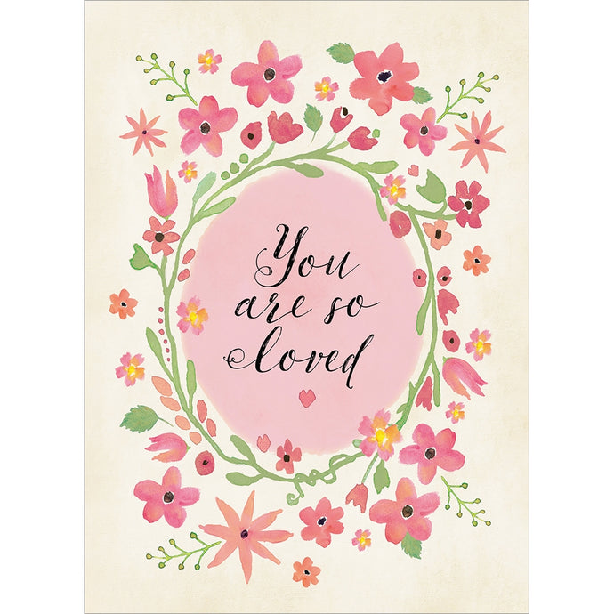 You Are Loved Mother's Day Greeting Card