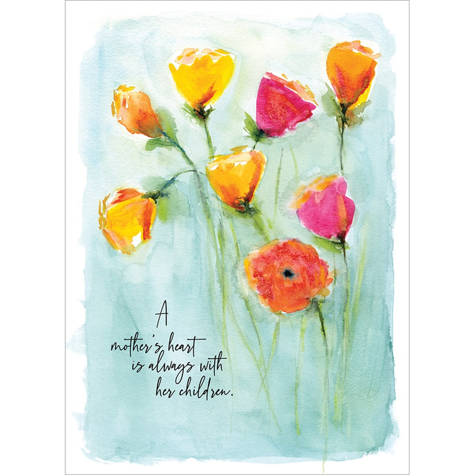 A Mothers Heart Mother's Day Greeting Card