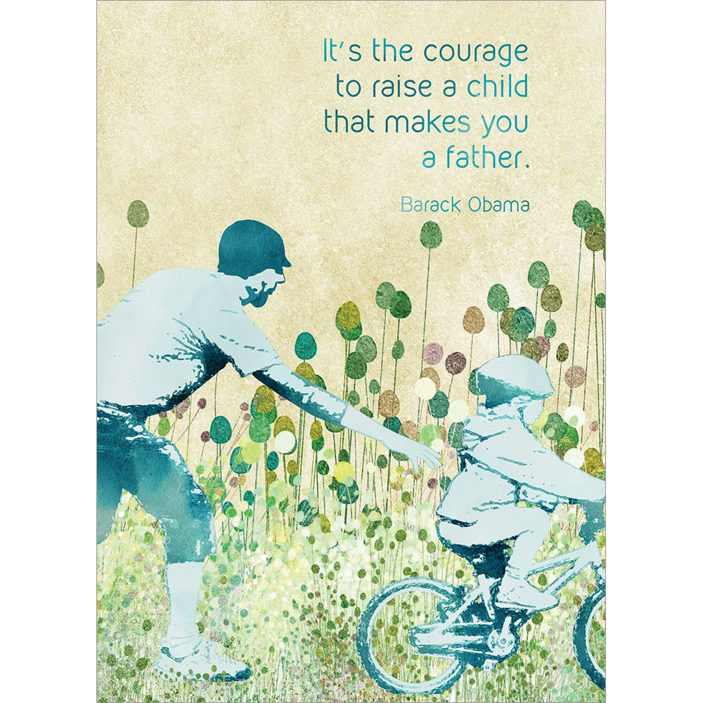 Father Courage Father's Day Greeting Card