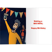 Load image into Gallery viewer, Me Also Me Birthday Greeting Card