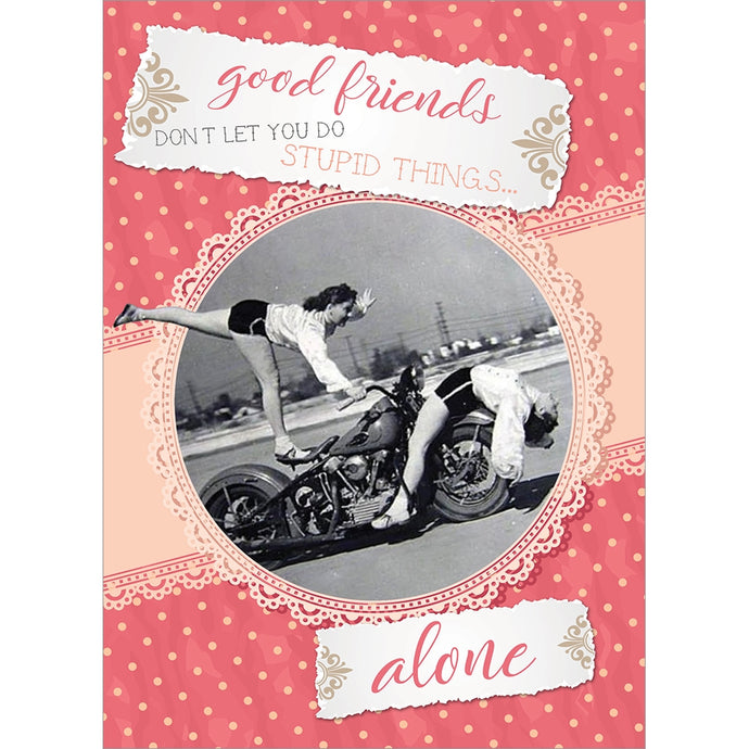 Galentine Valentine's Day Greeting Card