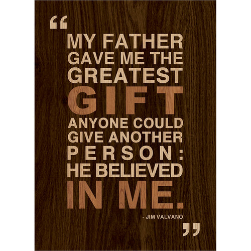 Greatest Gift Father's Day Greeting Card