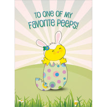 Load image into Gallery viewer, Favorite Peep Easter Greeting Card