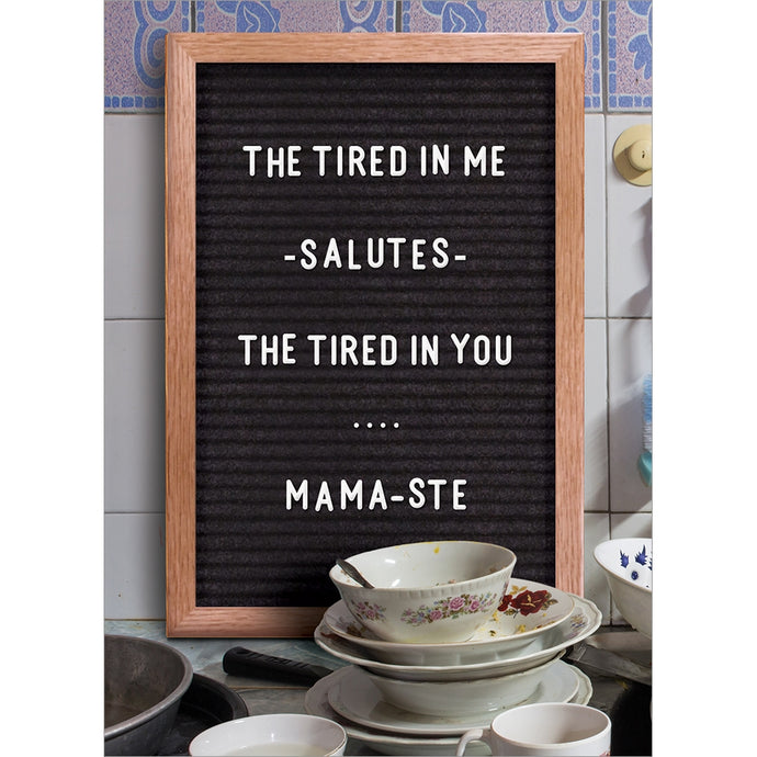 Mama-Ste Mother's Day Greeting Card