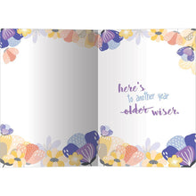 Load image into Gallery viewer, Wise Woman Birthday Greeting Card