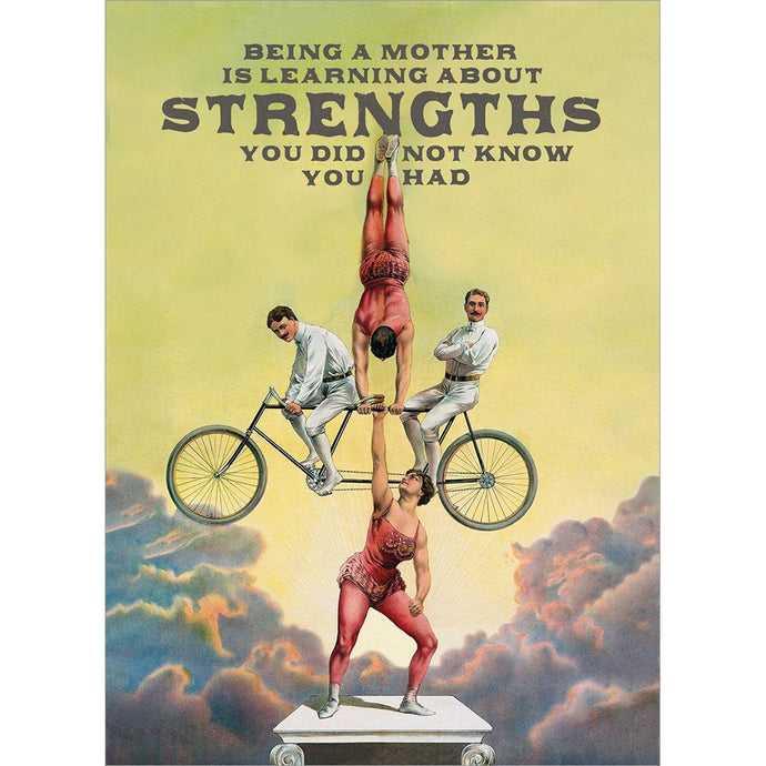 Strong Mother Mother's Day Greeting Card
