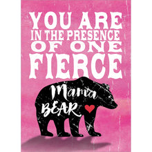 Load image into Gallery viewer, Fierce Mama Bear Mother's Day Greeting Card