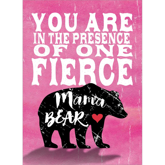 Fierce Mama Bear Mother's Day Greeting Card