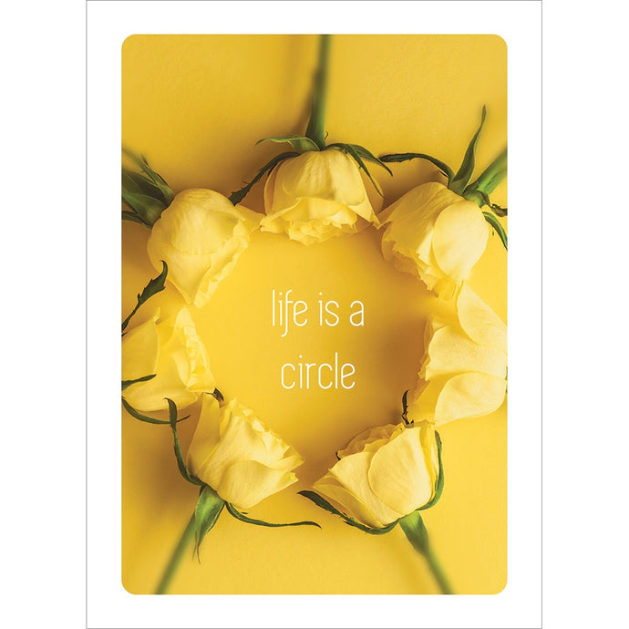 Circle Of Life Anniversary Greeting Card
