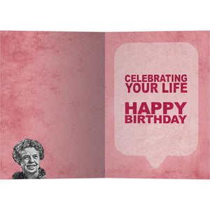 Well Lived Birthday Greeting Card