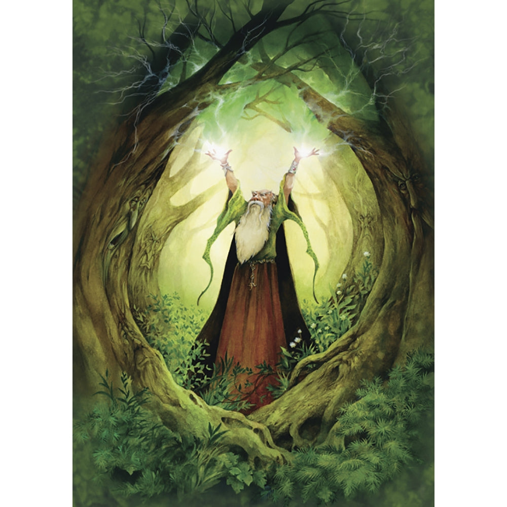 Earth Wizard All Occasion Greeting Card