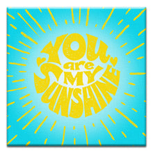 Load image into Gallery viewer, My Sunshine  All Occasion Thumbtack Canvas Art Card