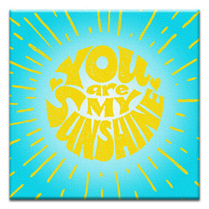 My Sunshine  All Occasion Thumbtack Canvas Art Card