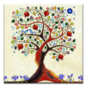 Inspiring Tree of Life  All Occasion Thumbtack Canvas Art Card