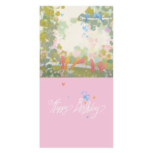 Celebrate Together Birthday Thumb-Tack Canvas Art Card