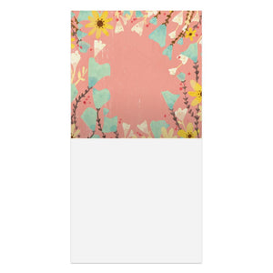 Because Of Love Wedding Thumb-Tack Canvas Art Card