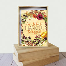 Load image into Gallery viewer, Grateful Blessed 4x6 Thank You Bamboo Box Notecard Sets