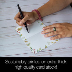Load image into Gallery viewer, Grateful Heart 4x6 Thank You Bamboo Box Notecard Sets