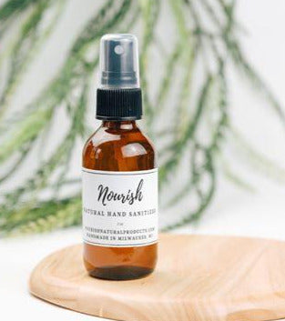 Hand Sanitizer Natural Esssential Oil - Natural Nourish Product