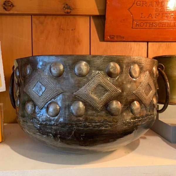 Haitian Metal Art Bowl. Large! Fair Trade