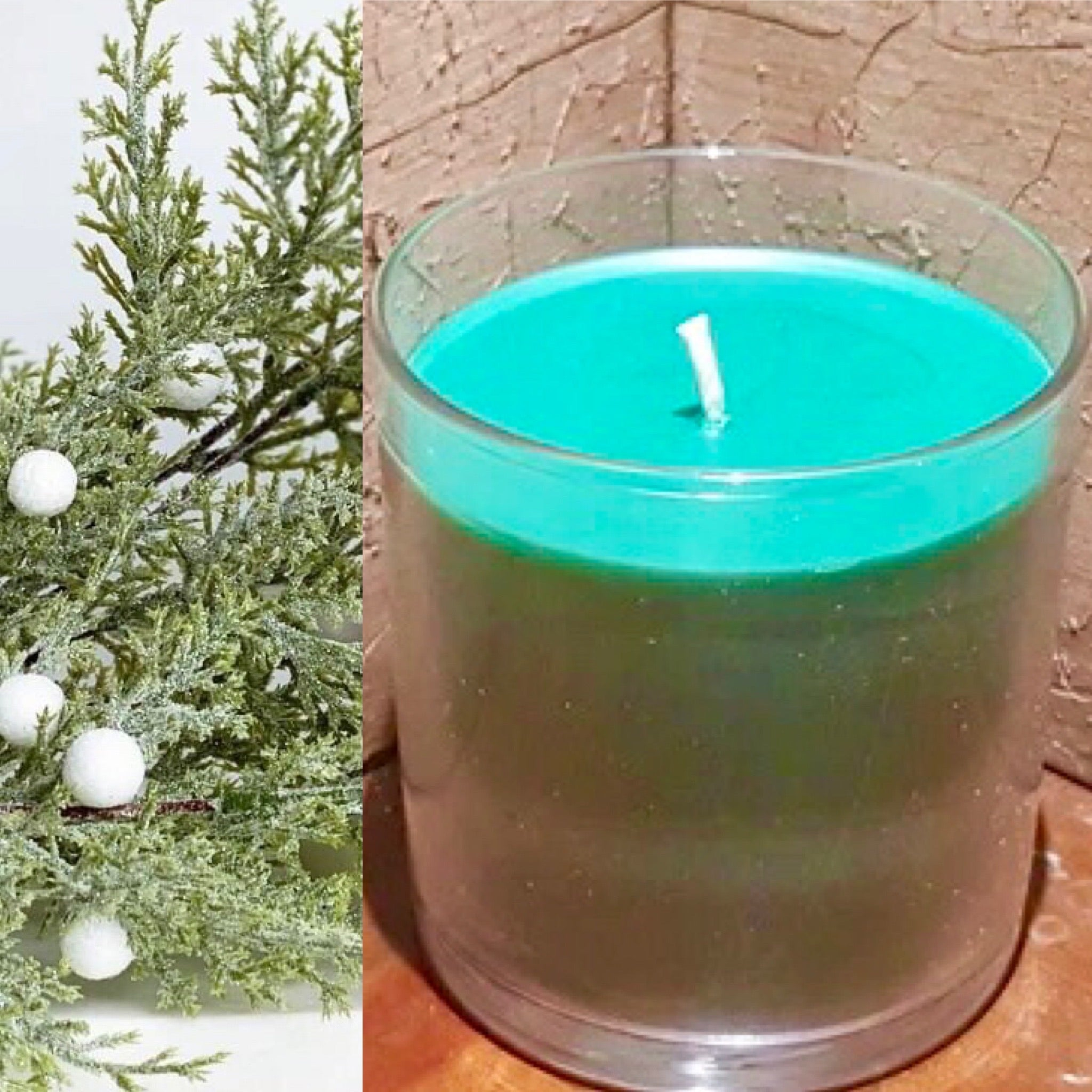 Holiday Evergreen Candle LG 100% natural~essential oil only. Supporting women in transition.