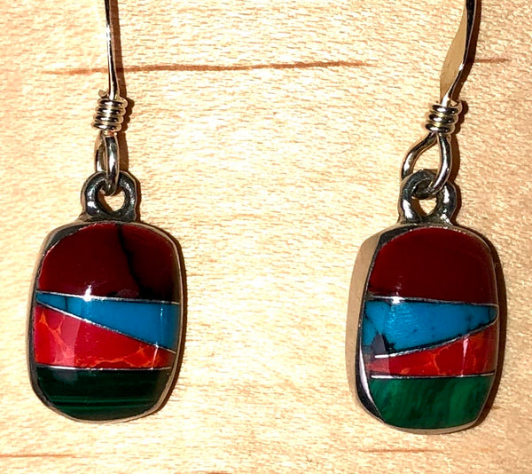 Fair Trade Earrings. Hand crafted. Taxco, Mexico