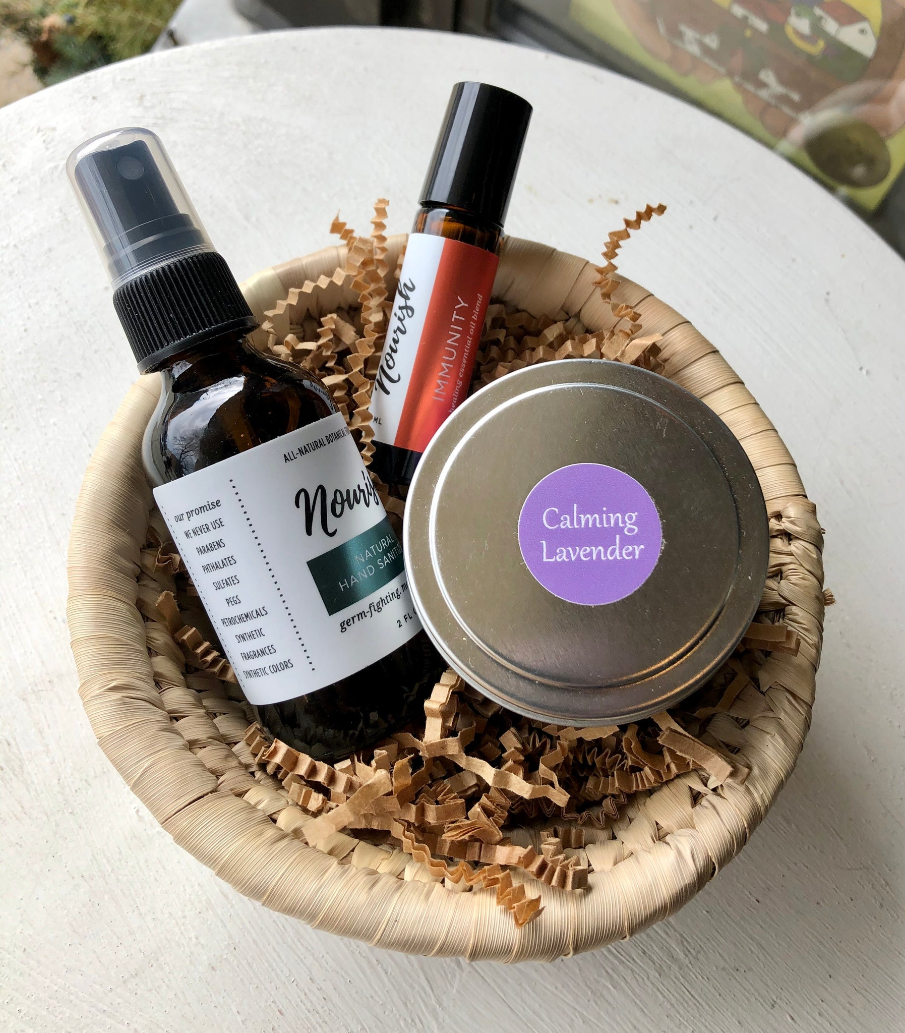 Gift Basket Sm - Natural Self Care
