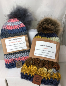 Hats for Winter! Soft & warm, hand knit, Milwaukee.