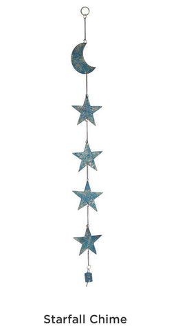 Starfall Chime.  Fair Trade. India 30in length