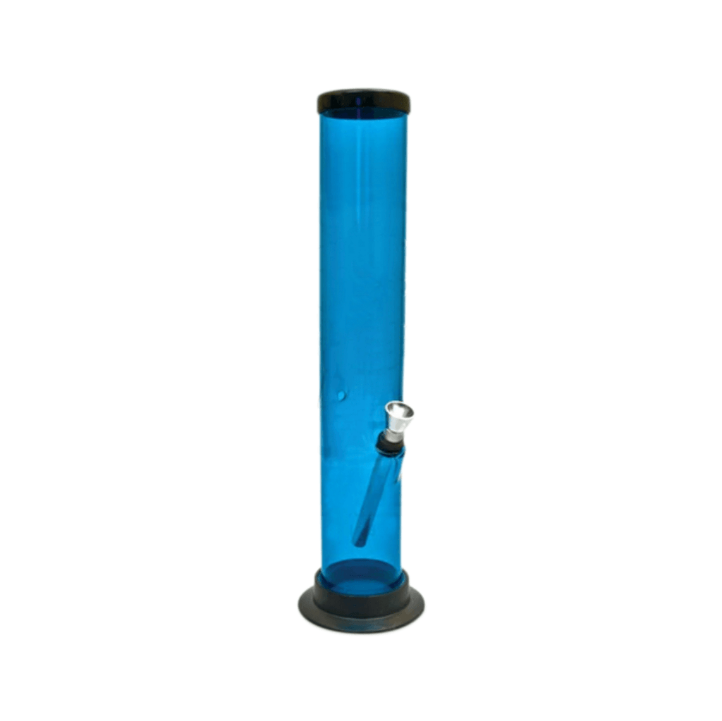 Straight Acrylic Bong - 12 Inches