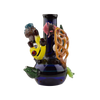 Jeff Berning Ocean Bong - Dab Rig and Dry Herb Bong - 6.5 Inches