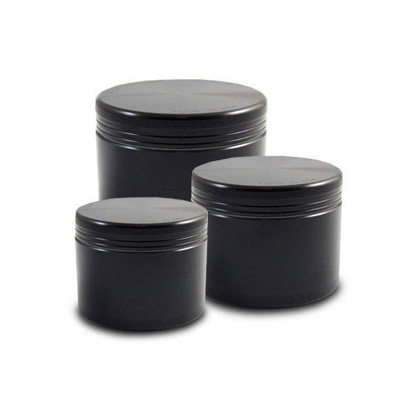 Space Case Grinder - 4 Pieces - Small, Medium, Large - Black