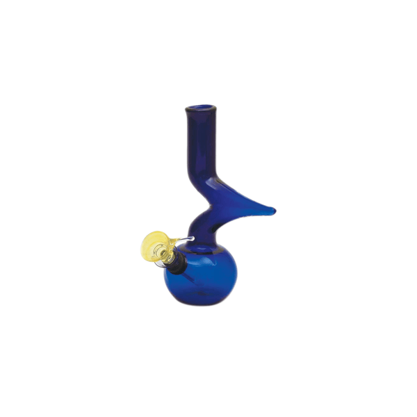 Mini Zong Bong - 8 Inches - Blue, Amber, Green
