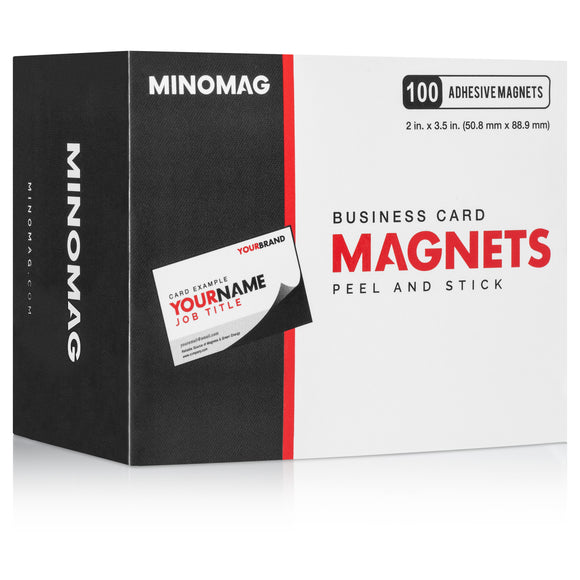 Business Card Magnets | 3.5in.x2in. (Box of 100)