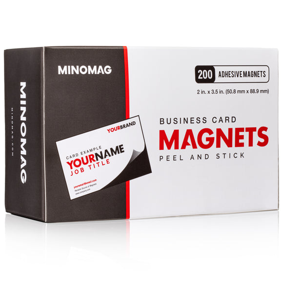 Business Card Magnets | 3.5in.x2in. (Box of 200)
