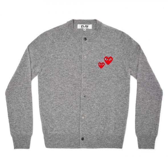 PLAY Cardigan Two Heart Grey Series