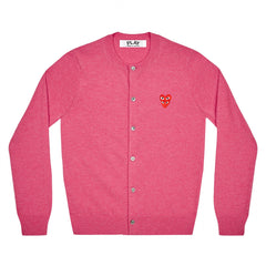 PLAY Women's Cardigan with Red Family Heart