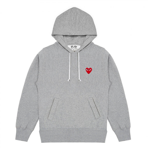 PLAY Grey Pullover Hooded Sweatshirt