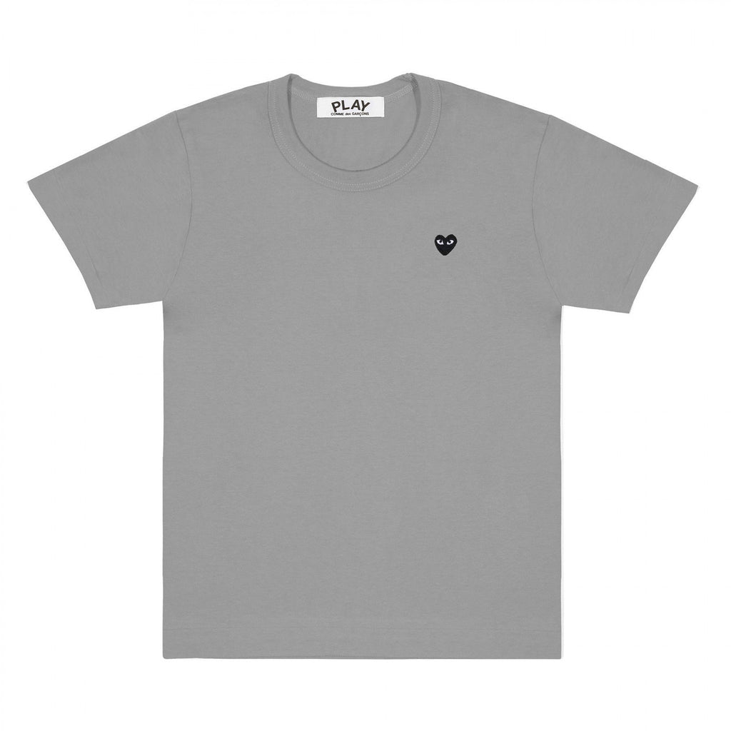 PLAY Basic Coloured T-Shirt Small Black Emblem