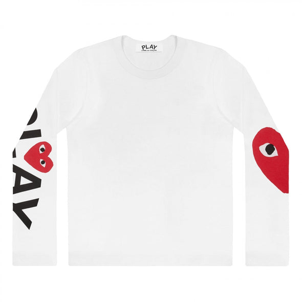 PLAY L/S Printed Logos T-Shirt 57