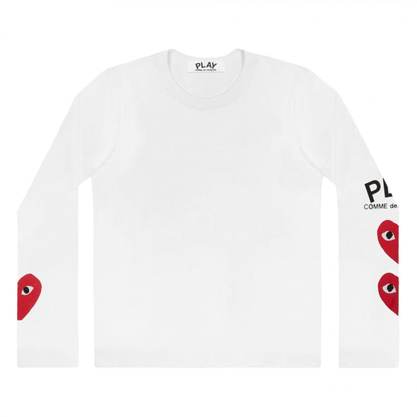PLAY L/S Printed Logos T-Shirt 59