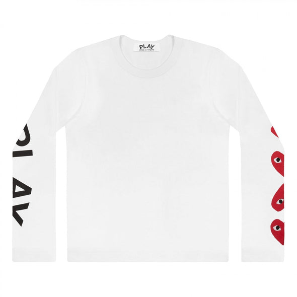PLAY L/S Printed Logos T-Shirt 61