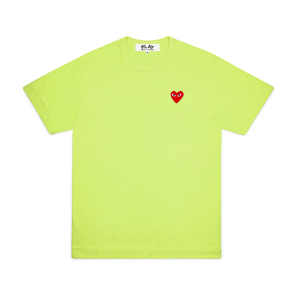 PLAY Basic T-Shirt Red Emblem Spring Series (Green)