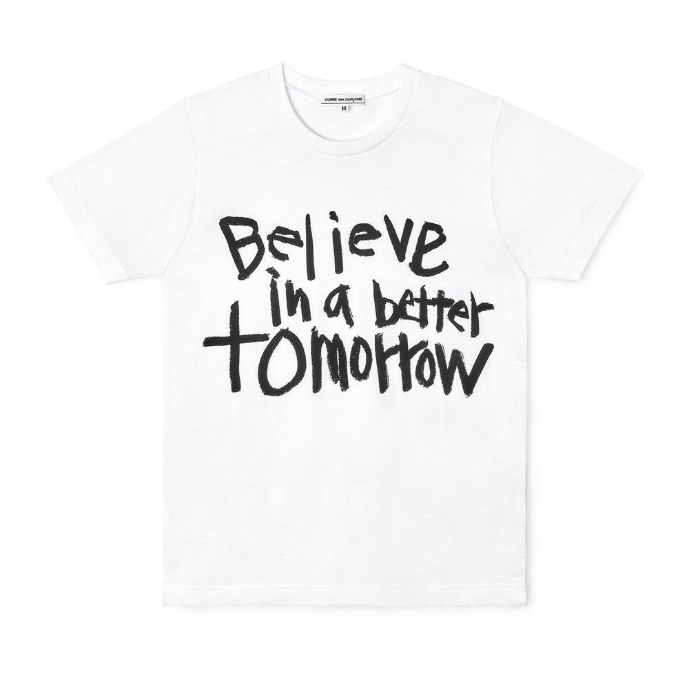 CDG Message T-Shirt 3Believe