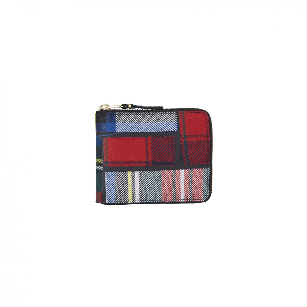 Tartan Patchwork Group Wallet 7100TPATCHR