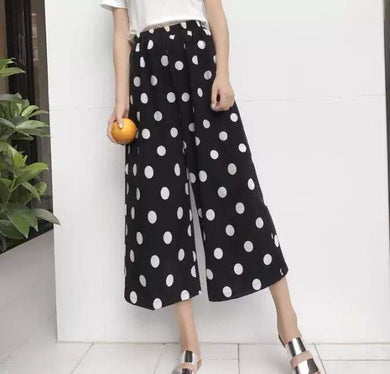 Polka Dotted Trouser - Mart of Fashion