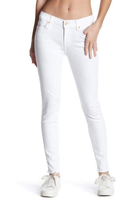 White Plain Women's Jeans - Mart of Fashion