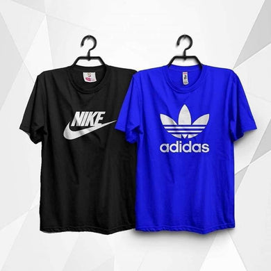 Pack of 2 Printed T-shirt - Mart of Fashion